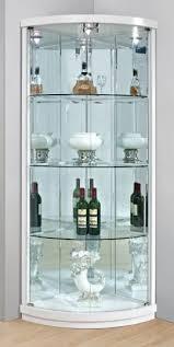 divider bar cabinet corner display