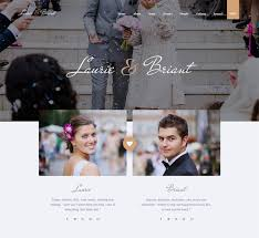 Wedding Website Template Magnificent 28 Best Responsive Website Templates For Wedding And Wedding