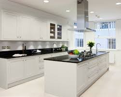 Prissy Inspiration Kitchen Designs With White Cabinets And Black  Countertops Houzz On Home Design Ideas. « »