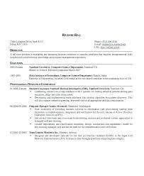 Resume Template Engineer Entry Level Java Developer Resume Software