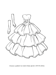 Coloring Pages Barbie Fashion Model Printable Coloring Pages Fashion