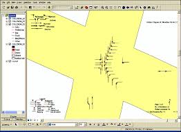 arcgis interface for aims gis accident softwarefigure a  c  displaying collision diagram in arcgis