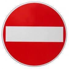 Resultado de imagen de tanca prohibit passar