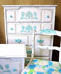 white painted furnitureDreamy Blue and White Furniture RestylePetticoat Junktion
