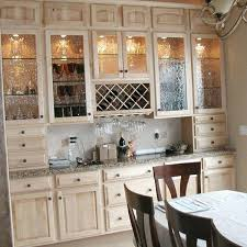 wooden glass kitchen cabinets how to make your kitchen beautiful with glass cabinet doors for the