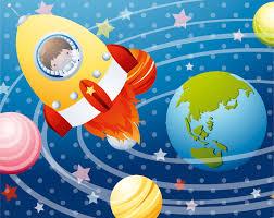 Space Bedroom Wallpaper Astronaut Wallpaper Mural For Toddlers Kool Rooms For Kool Kids