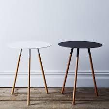 metal coffee table legs steel wood round side table on food52