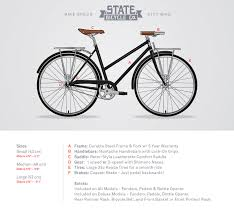 The Elliston City Bikes Dutch Bicycles State Bicycle Co