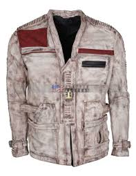 the force awakens star wars finn leather jacket hot mens leather jacket john boyega leather