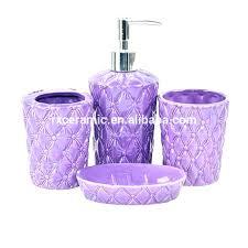 purple and green bathroom wall decor bath set accessories