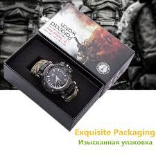 <b>Outdoor Survival Watch Multifunctional</b> Waterproof Military Tactical ...