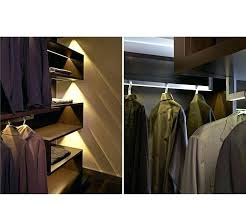 lighted closet rod led best lighting images on strip ceilings and home clothes x lighted closet rod