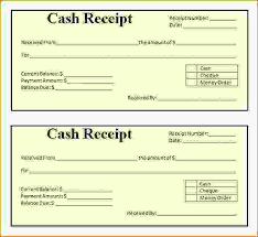 Money Receipt Template Payment Receipt Sample Payment