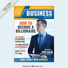 Magazines Cover Design Business Magazine Cover Design Vector Free Download