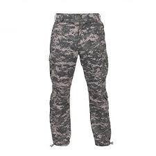 Acu Digital Camouflage Military Cargo Fatigue Bdu Pants 8686 Rothco 8685 Ebay