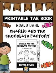 charlie and the chocolate factory novel study unit deep thinking charlie and the chocolate factory by roald dahl is always a student favourite tab books