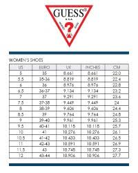 Guess Womens Jeans Size Chart Guess Jeans Size Chart