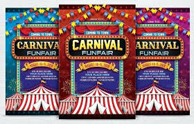 Free Printable Birthday Invitation Templates For Kids Free Carnival Invitations Carnival Invitation Template Fresh Free