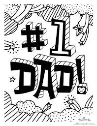 awesome idea father s day coloring pages fathers doodle art alley happy dltk for s