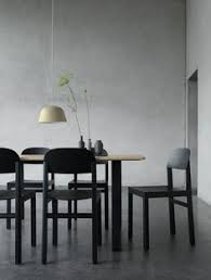 scandinavian interior design with the work chair table ambit pendant l and balance vase set find this pin and more on muuto dining