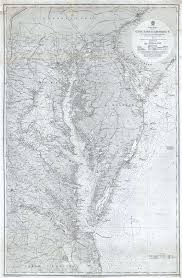 Upper Chesapeake Bay Chart North America East Coast Great Egg Harbor To Albemarle