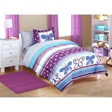 purple chevron bedding gray