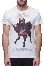 <b>Футболка BREATHE OUT</b> Cerberus T-Shirt (Белый, S)   www.gt-a.ru