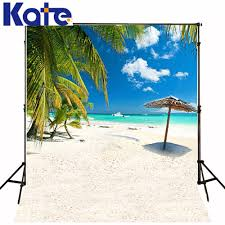 <b>KATE</b> Seaside <b>Photography Backdrops</b> Palm Tree 10x10ft ...