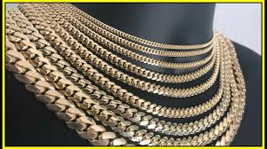 Tennis Chain Size Chart Miami Cuban Link Sizing Guide