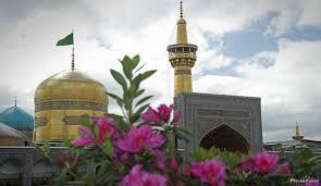 Image result for جوان مسیحی در حرم رضوی به اسلام مشرف شد