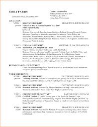 Graduate Student Resume Grad Student Resume Therpgmovie 14
