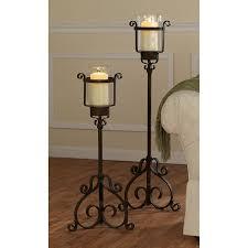 15th century italian renaissance style meval metal floor table candle holders