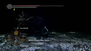 m father of the abyss dark souls dlc final boss fight