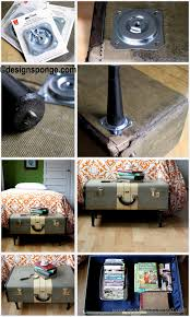 diy comic book desk. How To Make A Vintage Suitcase Coffee Table Diy Comic Book Desk E
