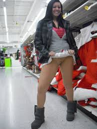 Naughty Girls Flashing In Stores