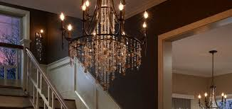room setting square old world iron glow grand foyer crystal chandelier afl c superb foyer chandelier