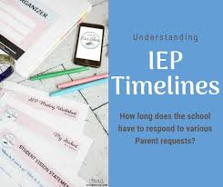 Iep Timeline Chart Illinois Iep Timelines When Should The School Respond To Parent