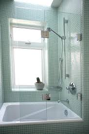 best aqua tub door frosted glass bathtub within for designs enclosures frameless shower with doors having