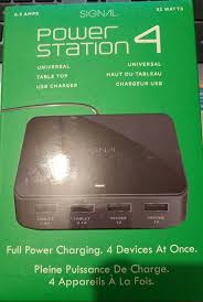 details about signal powerstation 4 high power usb charger includes 4 high power outputs