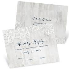 Response Cards For Weddings Wedding Response Cards Custom Designs From Pear Tree