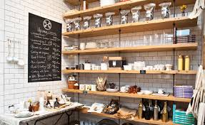 As a cafe, retail, and kitchen space, Havens Kitchen did a great job  creating cohesion to three sets of very different functional needs.