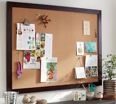 office cork boards. Framed Corkboard Office Cork Boards Pottery Barn
