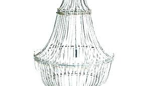 how to make a bead chandelier white beaded chandelier how to make beaded chandelier large size