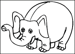 Elephant For Coloring Picture Of Elephant To Color Baby Elephant