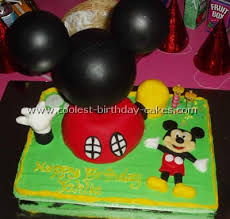 6 Cool Mickey Mouse Picture Cakes For Birthday Cake Inspiration