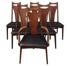 sculptural mid century dining chairs set of 6 on chairish