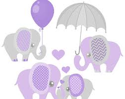 Purple Baby Rattle Clipart