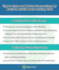 batch in quickbooks desktop