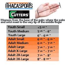 Youth Glove Size Chart Football 48 Symbolic Youth Football Gloves Size Chart