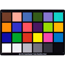 color chart x rite colorchecker classic card